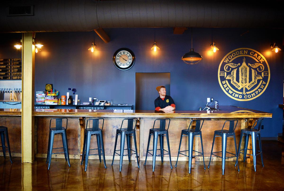 Wooden Cask Brewery Work Architecture Design